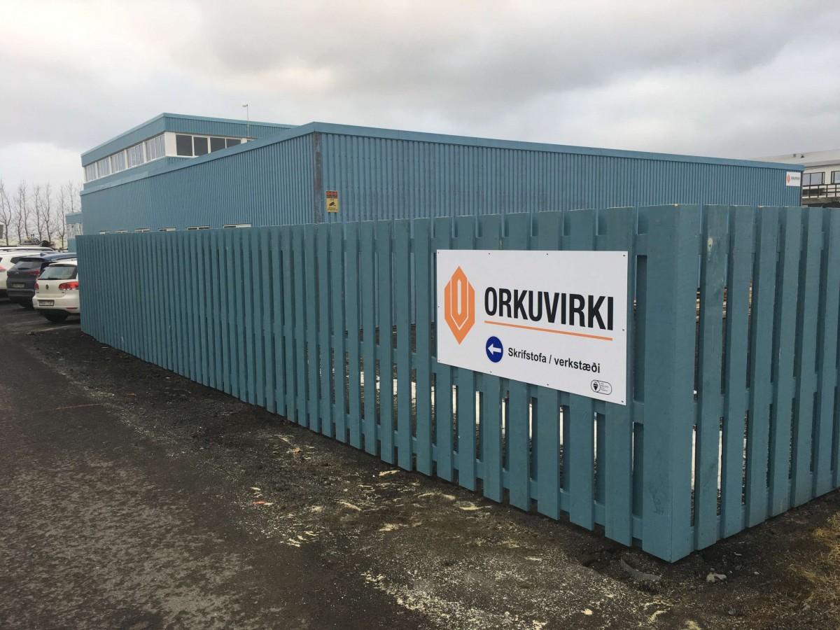 Framkvæmdir á Lóð Orkuvirkis